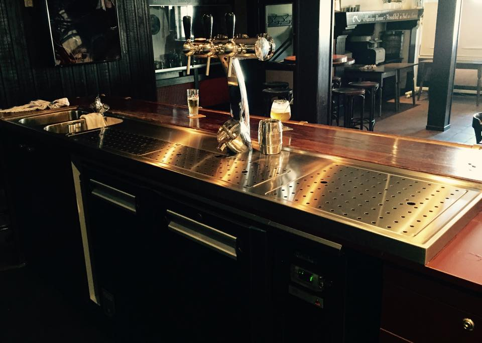 Works top and beer dispense